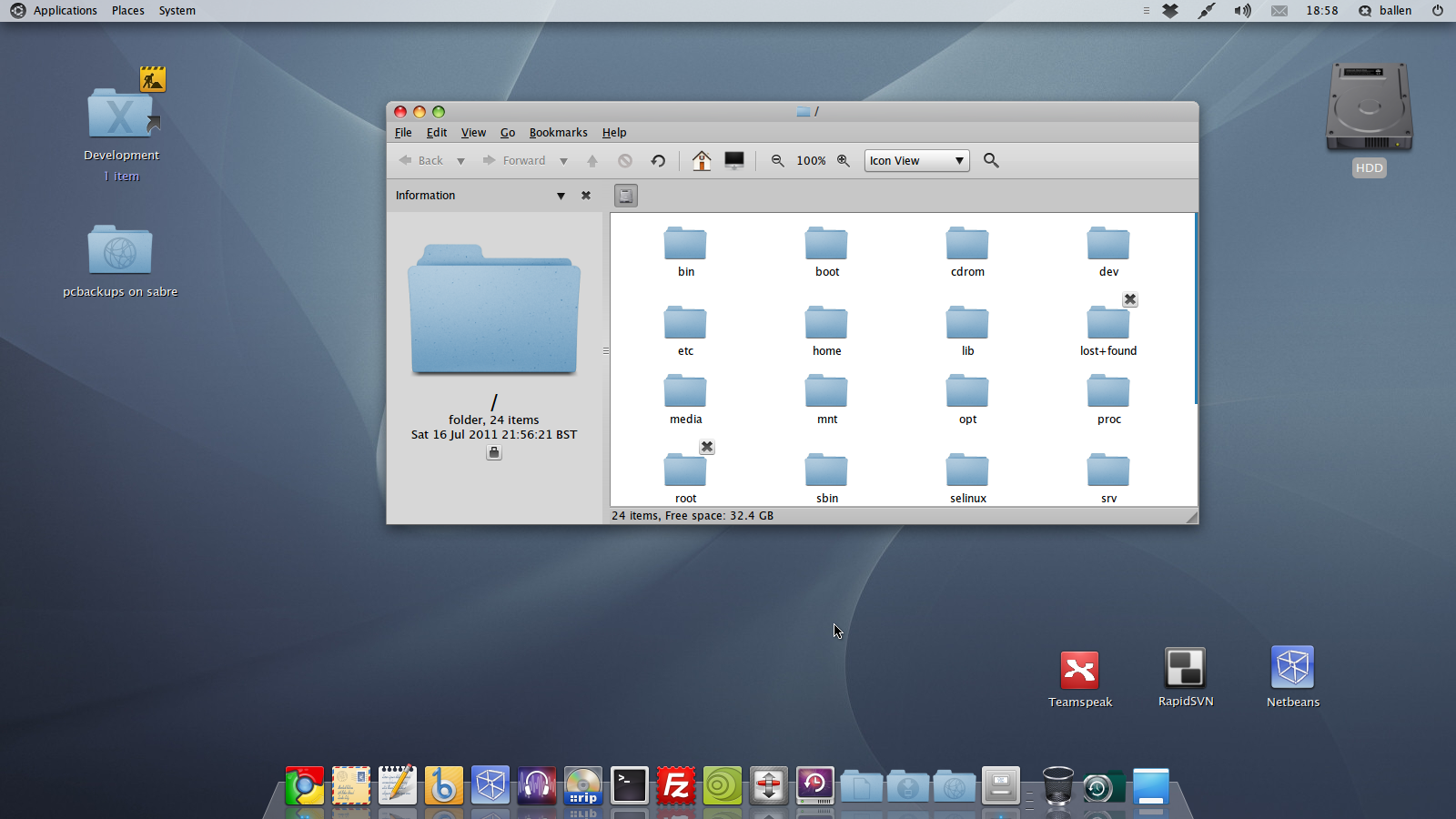 How to remove the Docky icon from Docky (Ubuntu 11.04 ...