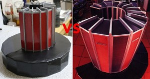 Cray replica versus 'The cray'
