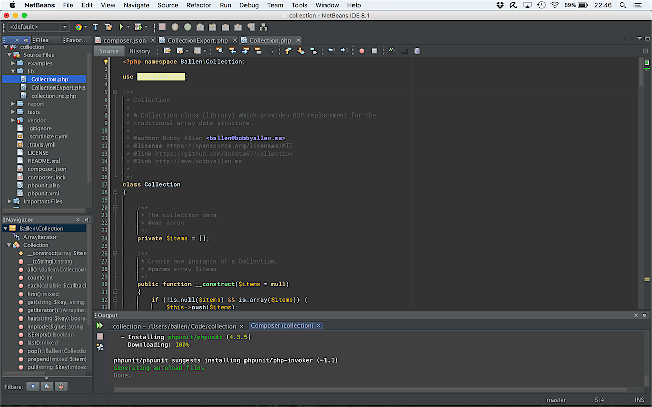 JetBrains PHPStorm Dark (Dracula) Theme for NetBeans